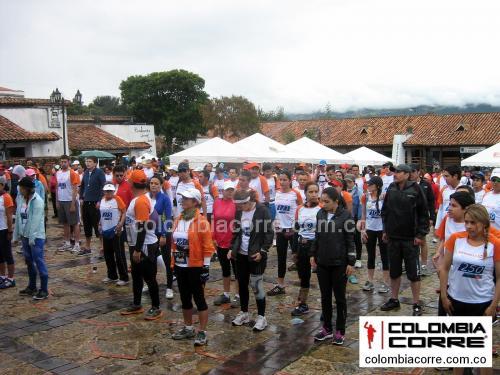 El ejercito de Colombia en la Merrell Trail Tour Guatavita 2013. Punto