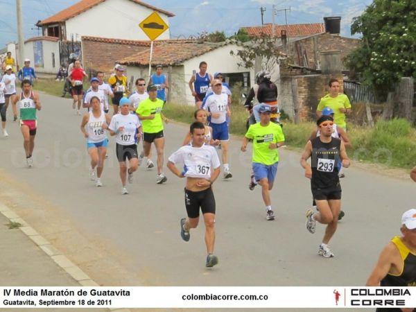media maraton de guatavita
