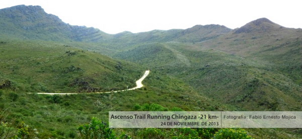 trail running chingaza 21k