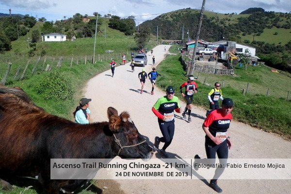 trail running chingaza 2013