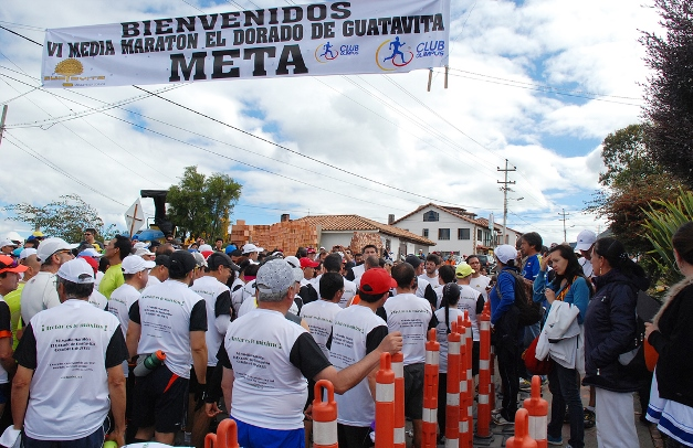 media maraton de guatavita club olimpus 2013
