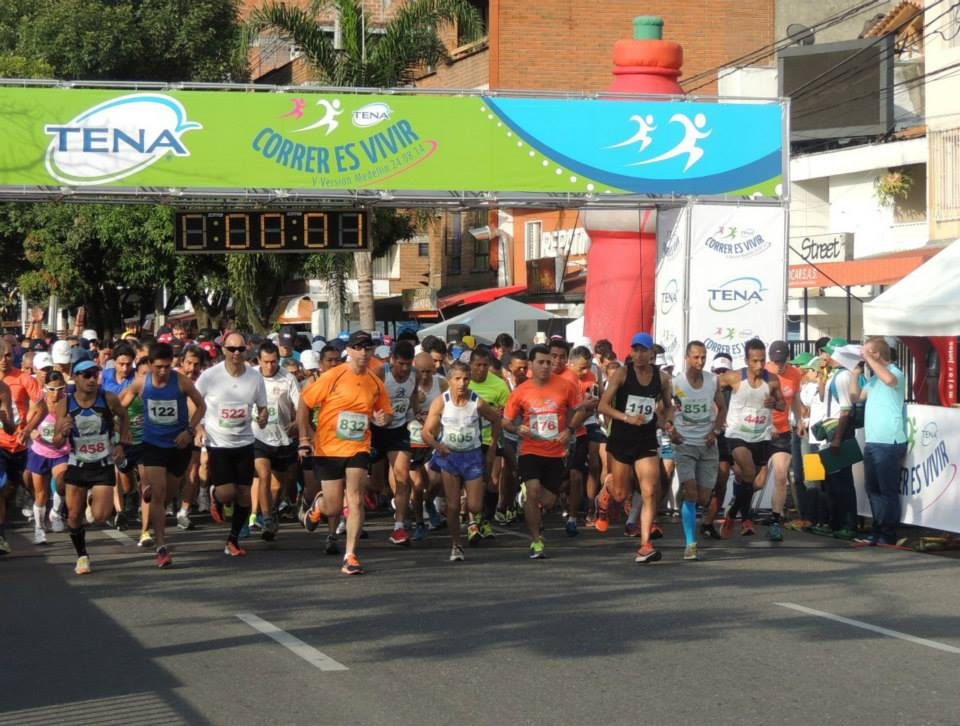 Más de 4000 corredores en la carrera Correr es Vivir Tena