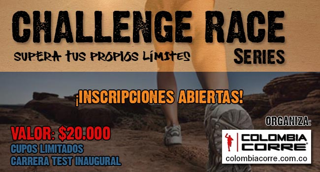 Challenge Race Series Diciembre Colombia Corre
