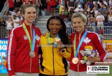 Oro de Muriel Coneo en los juegos panamericanos de Toronto