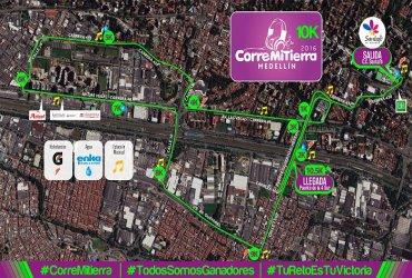 Ya viene Corre Mi Tierra Medellin, la carrera en la que todos somos ganadores