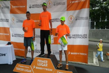 Cerca de 1.000 corredores participaron en los 10K Bodytech de Pereira