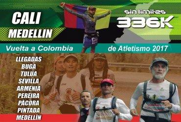 Ultramaratonistas de la vuelta a Colombia de atletismo recorrerán 336 kilómetros