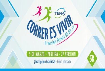 """Se abren inscripciones para la II versión  de """"Correr es Vivir TENA en Pereira"""""""