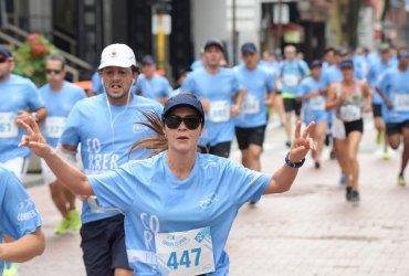"""Pereira se vistió de azul con la exitosa """"5k Vivir es TENA"""""""