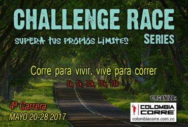 Asi será el Challenge Race de Mayo y el Challenge Monserrate