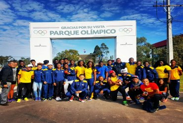 Colombia este fin de semana en el sudamericano con 45 atletas