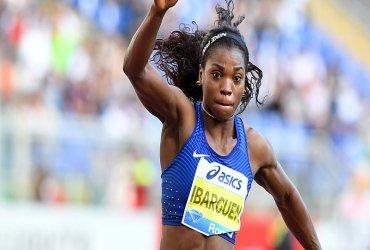 Caterine Ibargüen a la final de salto triple en el mundial de atletismo