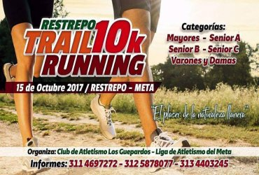 Nace una nueva carrera atlética en el Meta: Restrepo Trail Running 10K