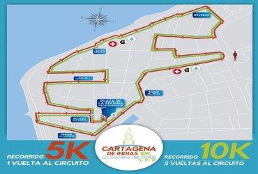 Cambios en el recorrido de la Cartagena de Indias 10k
