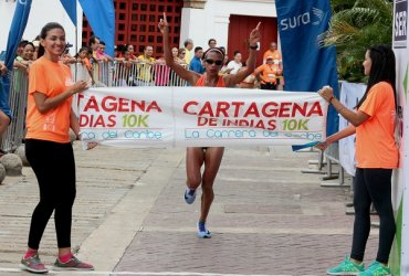 Muriel Coneo y Gerard Giraldo ganaron en Cartagena