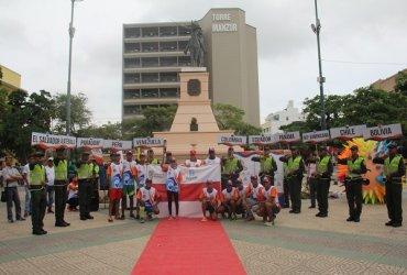 Fuego Bolivariano pasó por Barranquilla y llega a Ciénaga