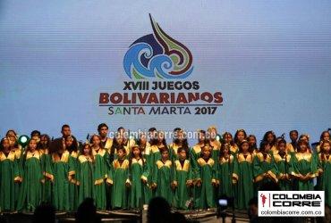 Santa Marta se despide de los Juegos Bolivarianos