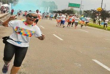 Corre como si de ello dependiera tu vida - Lina Esperanza Mendoza