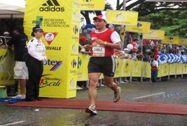 Un colombiano correrá 12 maratones en 12 meses por una causa