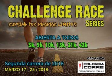 El Challenge Race de Marzo será abierto a todos