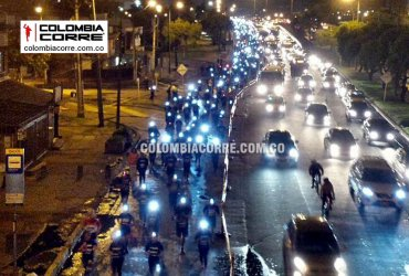 Bogotá vivió la carrera Night Race 10k