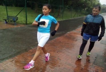 Club de atletismo para niños en Bogotá
