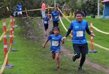 Deporte en familia y 2.000 campeones dejó Mi Reto Kids