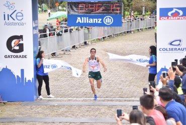 Jeison Suárez y Angie Orjuela se llevan el título de la Allianz 15k 2018
