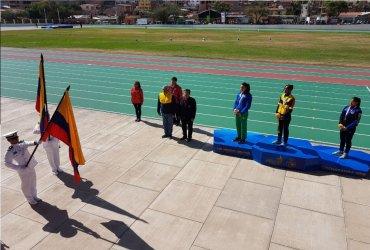 María Fernanda Murillo rompe récord suramericano en salto alto