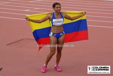 Muriel Coneo tricampeona suramericana