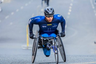 Francisco Sanclemente busca repetir título en la Maratón de Buenos Aires.
