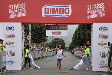 Todos quieren ganar la carrera Bimbo en Bogotá