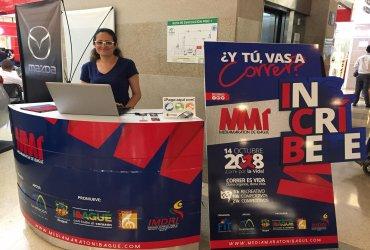 La Media Maratón de Ibagué inicia su Feria Deportiva en La Estación Centro Comercial