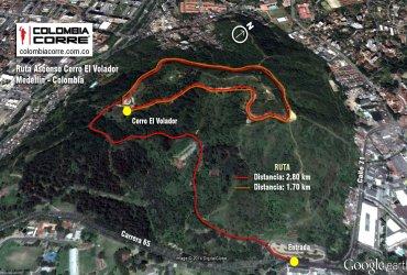 Rutas - Cerro El Volador - Medellin