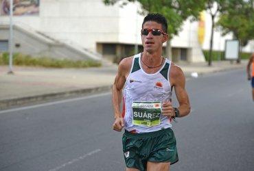 Jeisson Suárez campeón de la Media Maratón de Ibagué