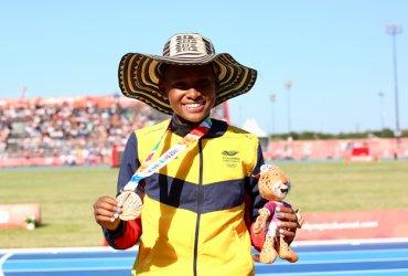 Valeria Cabezas ganó oro en los Juegos Olímpicos de la juventud