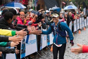 Paola Fierro campeona de los 100k del Ultra Trail de Mexico