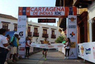 Fiesta total en la Cartagena de Indias 10k