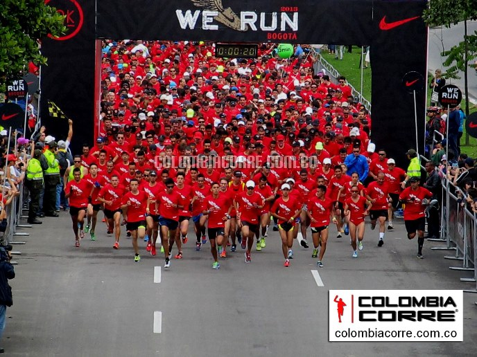 we run bogota nike 10k 2013