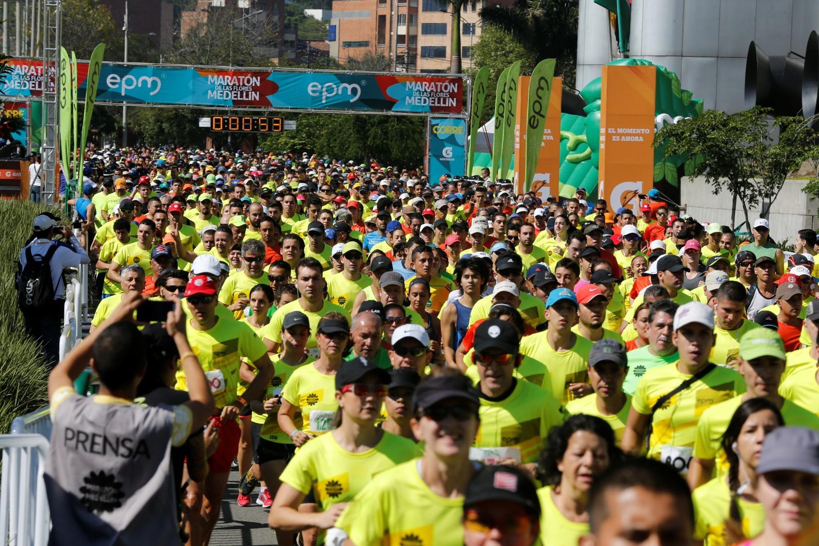 Hazlo pesado Agotar Revelar  Nike comienza entrenamientos para la Maratón de las Flores