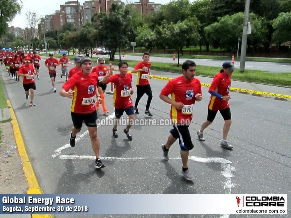 Global Energy Race bimbo bogota