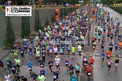 Kenia y Etiopia protagonistas en la celebración de la maratón Medellín en sus 25 años