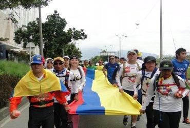 De punta a punta Juan Ramiro Osorio gana vuelta a Colombia de atletismo