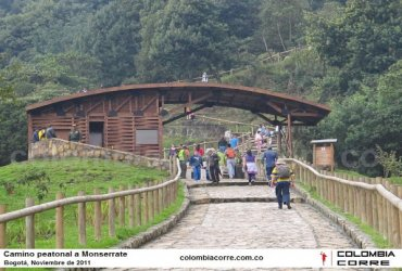 Se reabre el sendero peatonal a Monserrate