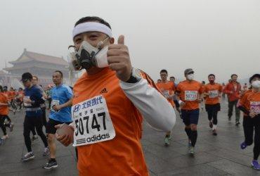 Correr en lugares con elevados niveles de contaminación atmósferica