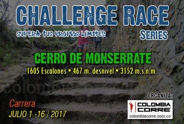 Gana una inscripción al Challenge Race de Monserrate