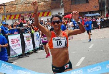 Angie Orjuela campeona en Soacha
