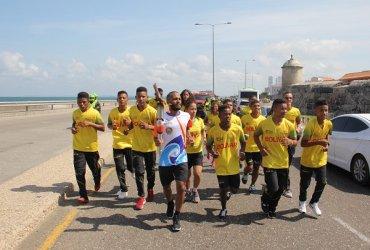 Fuego Bolivariano llegó a Cartagena