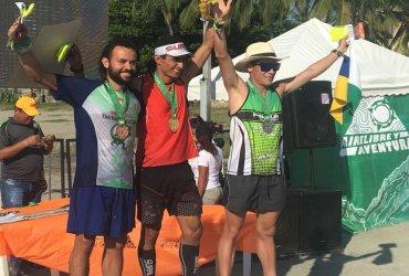Medalla de Bronce en 42 k Del Mar a la Cima 2017 - Juan Camilo Silva