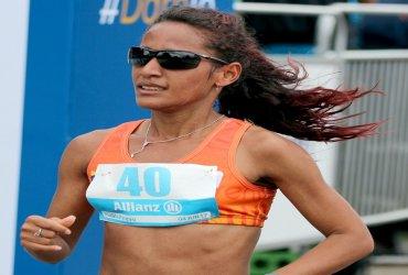 Kellys Arias fue seleccionada para la Maratón de Boston